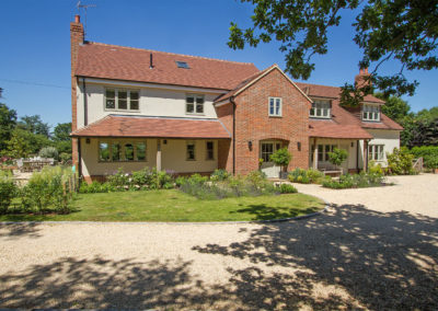 Contemporary home extension and renovation in Berkshire